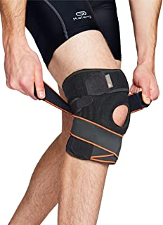 FLYON Knee Support for Running, Jogging, Sports, Joint Pain Relief, Arthritis and Injury Recovery
