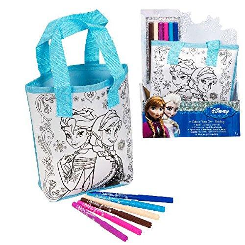 Disney Frozen Die Eiskoenigin Tasche zum selber bemalen Elsa und Anna
