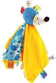 Generic Personalised Baby Comforter Blanket Security Blanket Animal Blanket for Gift - Hedgehog, as described
