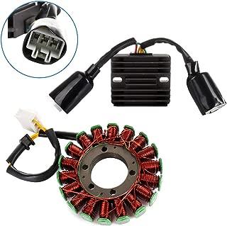 ECCPP Voltage Regulator Rectifier Magneto Generator Engine Stator Coil Kit Fit for 2004-2007 Honda CBR1000RR 2005 2007 Honda CBR1000RR Repsol