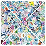 Ocean Stickers 200 Pcs Marine Life ,Shark,Sea Turtle, Whale,Starfish Stickers, Colorful Waterproof Stickers for Flask, Laptop, Water Bottle, Cute Aesthetic Vinyl Stickers