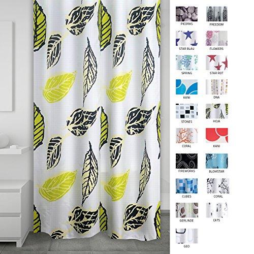 Ridder 403250–00 Rideau de douche en textile, plastique, multicolore, 200 x 180 cm