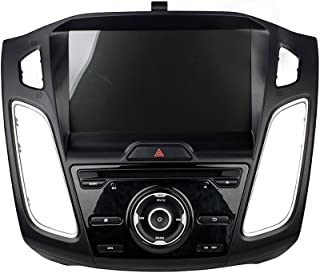KUNFINE Android 8.0 Otca Core Car DVD GPS Navigation Multimedia Player Car Stereo for Ford Focus 2012 2013 2014 2015 2016 Steering Wheel Control 3G WiFi Bluetooth Free Map Update 9 Inch