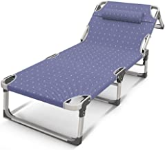 Simple Folding Chair,Recliners Folding Chair Simple Bed Folding Bed Sun Loungers Single Bed Camp Bed Office Siesta Bed