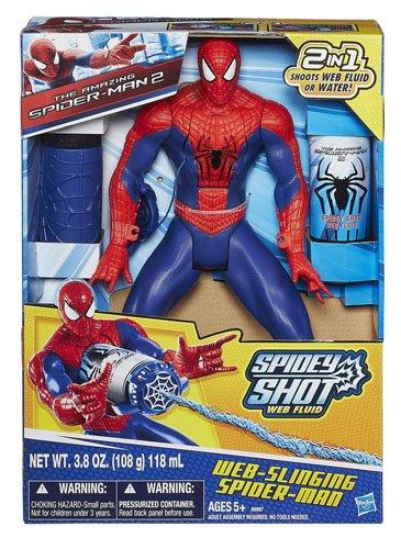 Marvel The Amazing Spider-Man 2 Web-Slinging Spider-Man Figure Hasbro A6997