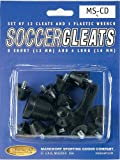 Markwort Football/Soccer Cleat Poly and Wrench, Black