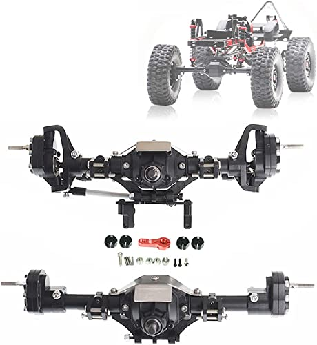 new arrival labworkauto Metal popular Front Rear Portal Axle Kit for 1/10 RC Car Axial 2021 SCX10II 90046 90047 online