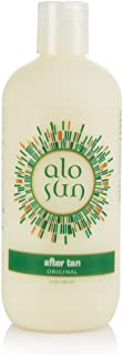 Alosun AfterTan Original - After Sun Moisturizer For Face Hands and Body / Aloe Vera, Vitamin E & A, Anti-Aging, Restorative
