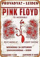 1969年オランダのピンク・フロイド-ヴィンテージルックの複製