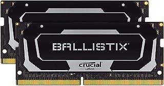 طقم ذاكرة ألعاب كروشال بالستيكس بسعة 2666 ميغاهيرتز DDR4 DRAM للكمبيوتر المحمول 32 جيجابايت (16 جيجابايت × 2) CL16 BL2K16G...