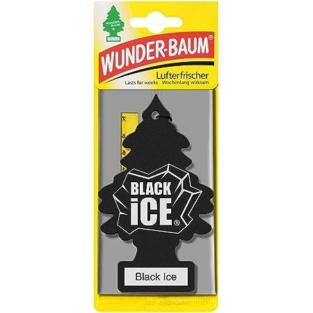 Wunder Baum Black Ice Auto Lufterfrischer Papier Auto Schwarz Küche Haushalt