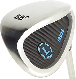 LAZRUS Premium Sand Wedge Anti Duff Thick Sole Loft Wedge Golf Club for Men & Women - Escape Bunkers and Save Strokes Around The Green - Lob Golf Wedges for Men