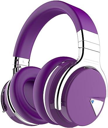 Auriculares COWIN con tecnología Active Noise Cancelling Púrpura