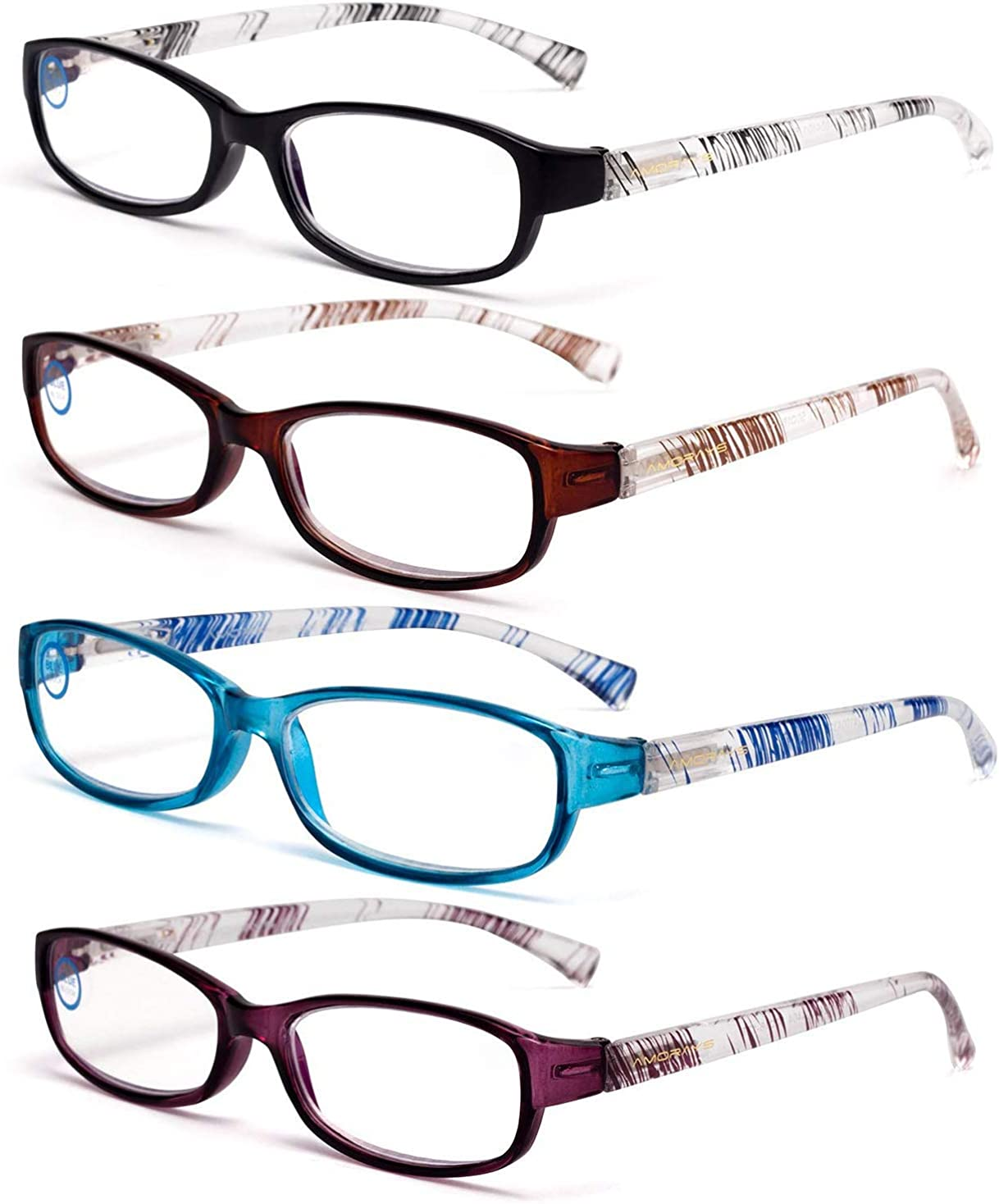 Amazon.com Blue Light Blocking Computer Reading Glasses Funky ...