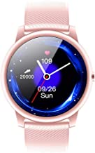 JSREO Smart Watch,KW40 Smart Sports Watch Bluetooth 5.0 IP68 Professional Waterproof Bracelet Women Men Bluetooth Sports Smart Wrist Watch