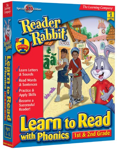 Price comparison product image Reader Rabbit Learn To Read With Phonics: 1st - 2nd Grade