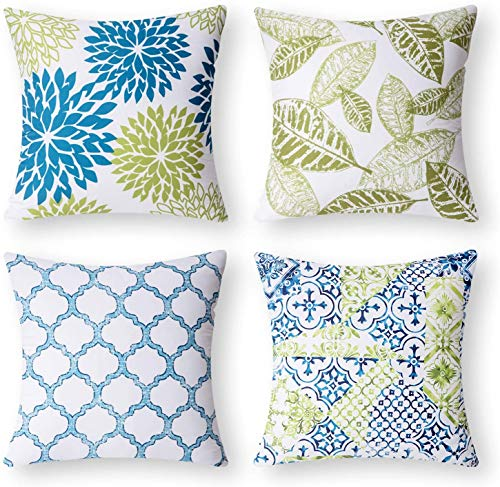 Top 10 pillow green blue for 2021