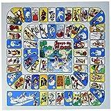 Softee Equipment 0010482 Parchís Tablero, Blanco, S