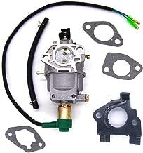 FitBest Carburetor Carb w/Gaskets Insulator Fuel Line for Honda GX340 Gx390 188F Engine 13hp Generator Engine