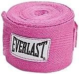 Everlast Hand Wraps (120-Inch, Pink)