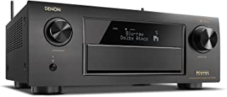 Denon AVRX6300H 11.2 Channel Full 4K Ultra HD AV Receiver with Built-in HEOS wireless technology featuring Bluetooth and Wi-Fi