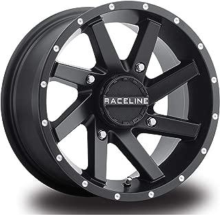 Raceline 14-19 Polaris RANRZR1000XE Twist Wheel (Front/Rear / 14X7 / 4/156 4+3) (Black)