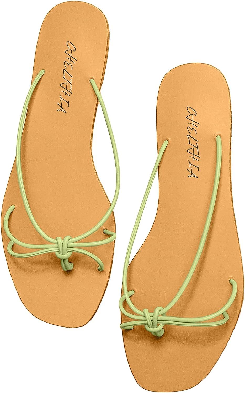 CHELTHIA Women's Flip Flops Sandals Strap Summer Slip Beach Seasonal Wrap Introduction Time sale Yoga
