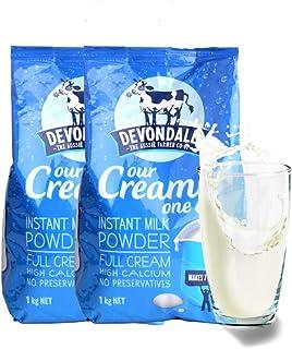 Devondale 德运 高钙速溶全脂进口儿童成人奶粉 1kg*2袋
