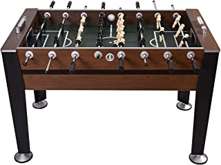 """GYMAX 54"""" Football Table Indoor Soccer Game Table for Adults Kids Room Sports Game"""