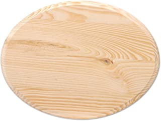 Darice Wooden Oval Plaque, Natural