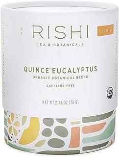 Rishi Tea Quince Eucalyptus Loose Leaf Herbal Tea   Immune Support, USDA Certified Organic, Botanical Blend, Caffeine-Fre...