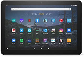 """Introducing Fire HD 10 Plus tablet, 10.1"""", 1080p Full HD, 32 GB, latest model (2021 release), Slate"""