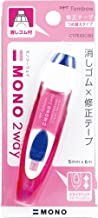 Tombow MONO 2-Way Correction Tape, Pink, 1-Pack