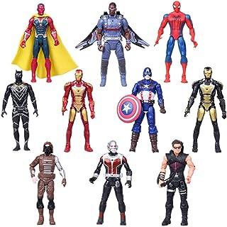 Superhero Adventures Ultimate Super Hero Set, 10 Collectible 6.7-Inch Action Figures (10)