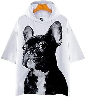 Bulldog Francese Dog Animale Felpa donna nuovawellcoda