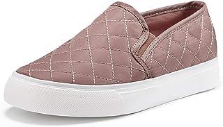 JENN ARDOR Women's Fashion Sneakers Classic Slip on Flats...