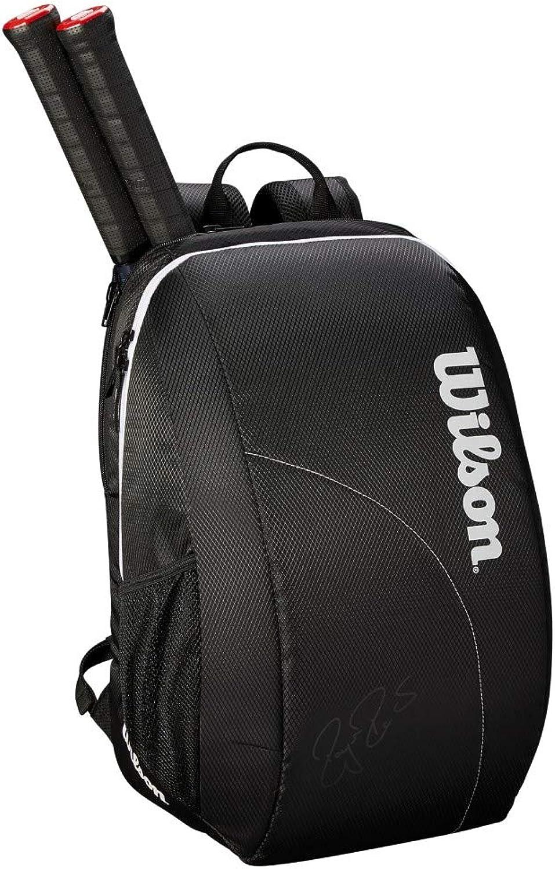 Wilson Fed Team Backpack, Black White