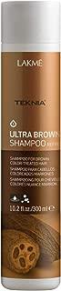 LAKME Teknia Ultra Brown Shampoo, 10.2 fl. oz.
