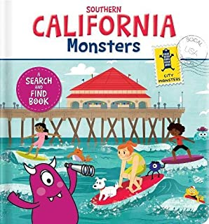 Southern California Monsters: A Search and Find Book
