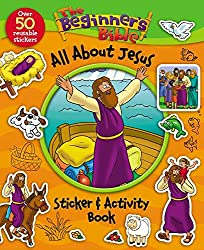 All About Jesus Sticker Book