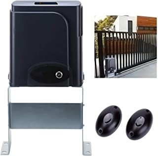 G.T.Master Sliding Automatic Gate Operator Kit - Driveway Security Gate Opener Hardware Kit with Two Transmitters and Infrared Photocell Sensor for Sliding Gates up to 1300lb and 27ft Long (GT1300)