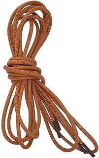 Dress Shoe Waxed Shoelaces Round Martin Boots Shoelaces 2 Pair
