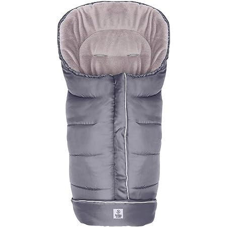 Babycab Winterfußsack K2 Für Kinderwagen Wind Wasserabweißender Fußsack Für Warme Spazierfahrten Mit Reflektoren Coralfleece Futter Babycab Baby