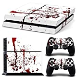 DOTBUY PS4 Vinyl Decal Autocollant Skin Sticker pour Playstation 4 console + 2 Dualshock Manette Set...