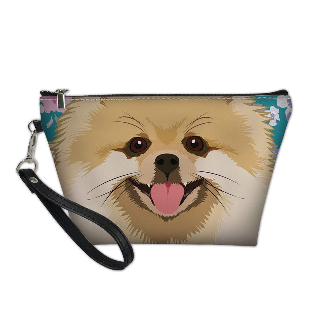 Ranking TOP10 Upetstory Girls Women Max 79% OFF Cosmetic Bag Small Zipper Pom Potable Cute