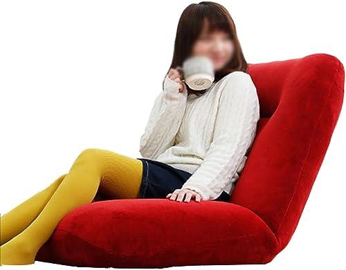 tienda en linea Beanbag PHTW HTZ Lazy Sofa Chair Fashion Leisure Plegable Floor Floor Floor Chair Cama Sillón Sala De Estar Balcón Sofa Chair Single 129  77cm + (Color   rojo)  Envío y cambio gratis.