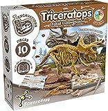 Science4you - Triceratops Fossil Excavation - Jugueto Cientifico y Educativo para Niños +6 Años