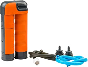 Renovo Water MUV Backcountry Pump Water Filter - Blocks Chemicals, Heavy Metals, Bacteria, and More