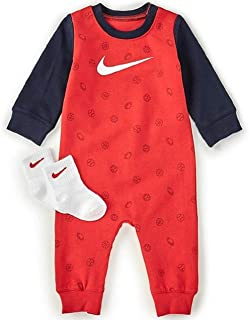 Tommy Hilfiger Boys Baby All Over Print Coverall L//S Shaping Bodysuit