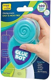 Imagimake Glue Bot - Glue Dots Set of 200 for Art, DIY, Gift Packing, Scrapbooking